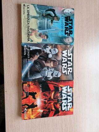 Star Wars Novelas precuelas
