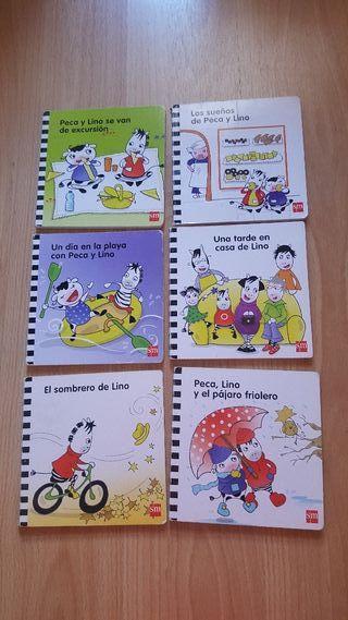 Colección libros SM Peca y Lino