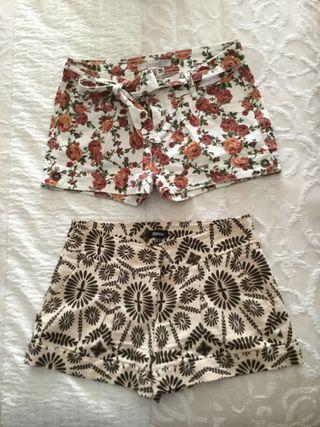 Pack de 2 shorts talla 36