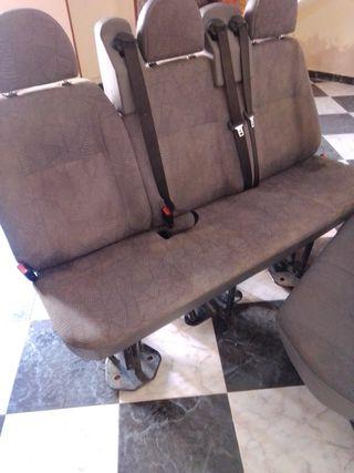 ford transit asiento trasero 2005