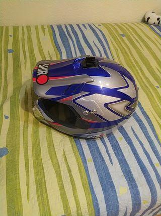 casco y pantalón motocross