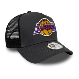 New Era Dark Base Team Trucker Los Angeles Lakers