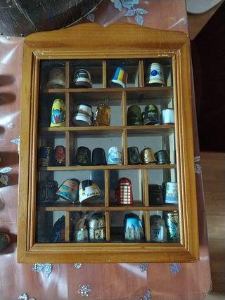 Colección de dedales del mundo