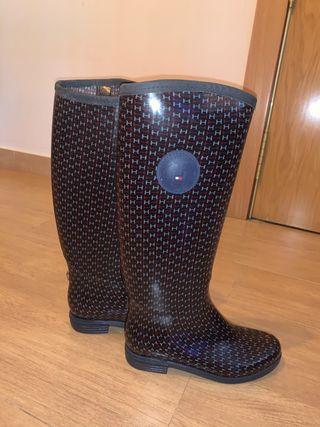 Botas de agua tommy hilfiger