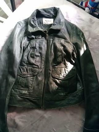 chaqueta de piel para mujer Pepe jeans