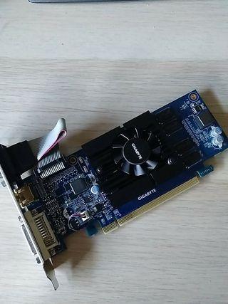 TARJETA GRAFICA GIGABYTE GeForce® GV-N210D3-1GI