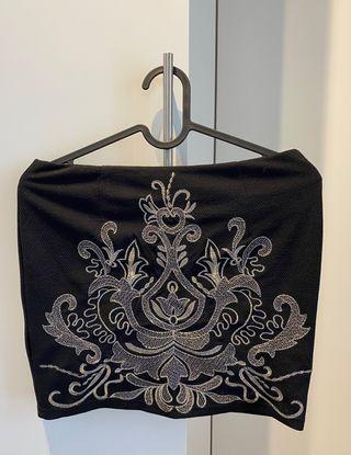 Falda de tubo negra de Oxygene