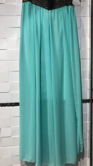 Falda turquesa s