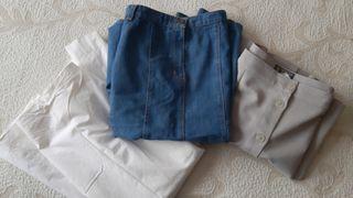 Lote de tres faldas talla 48