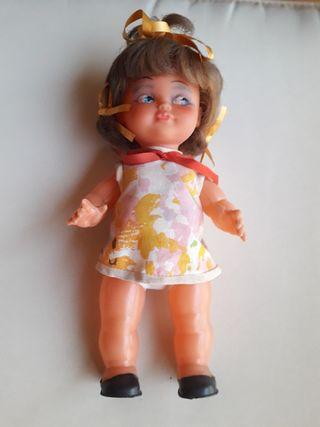 Muñeca antigua 27 cm