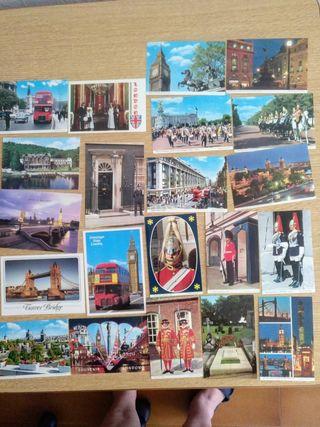 21 Postales Londres.