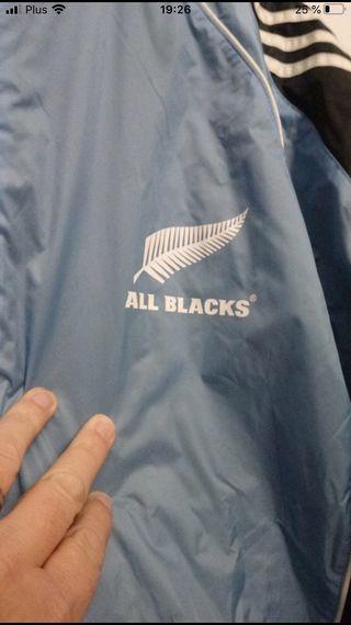 Chaqueta All Blacks retro XXL