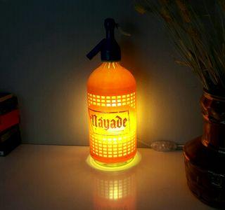lámpara sifón vintage MAYADE luz ambiente calida