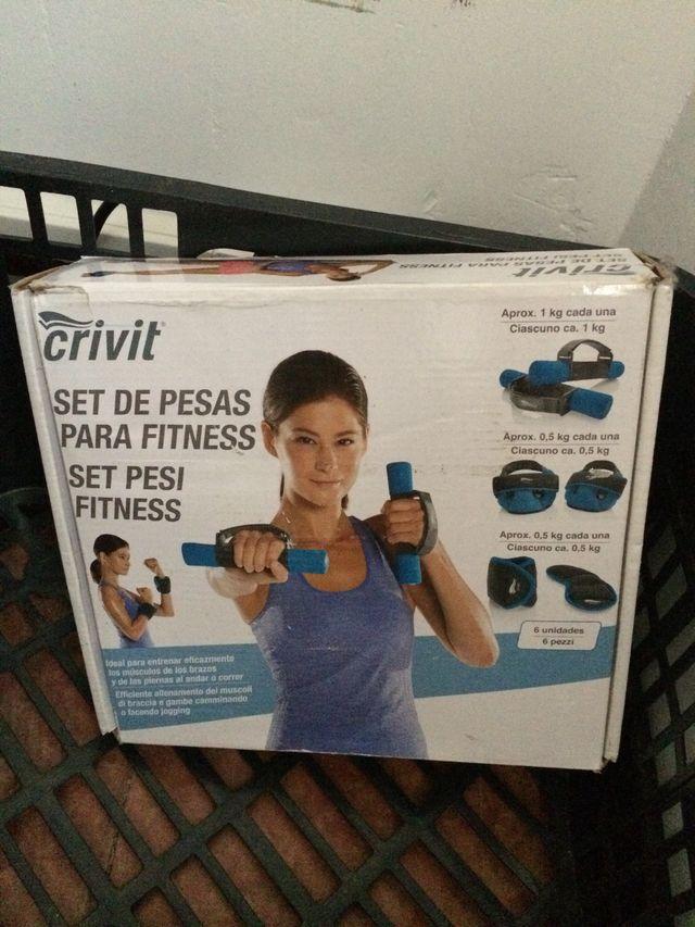Juego de 6 Fitness Juego de pesos