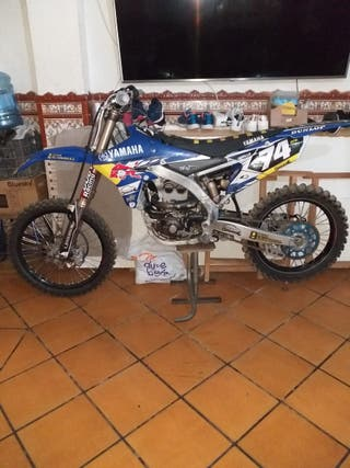 vendo moto de moto cross