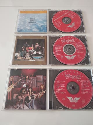 PACK 3 CD AEROSMITH
