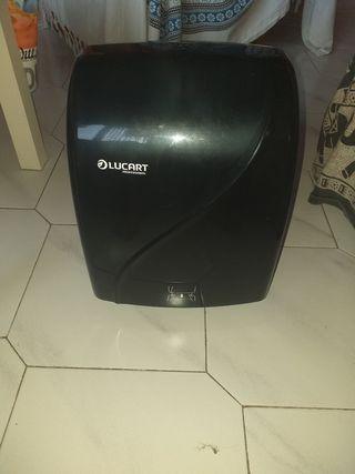 vendo dispensador de papel higiénico y de manos