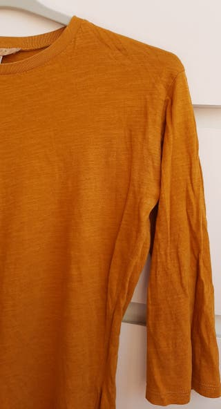 Camiseta fina 3/4 Zara