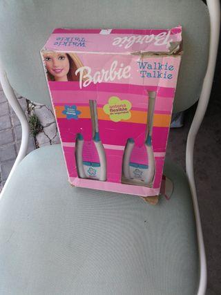 wualkie talkie dela barbie en sucaja en buen estad