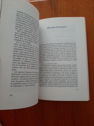 libro Cria de Caracoles