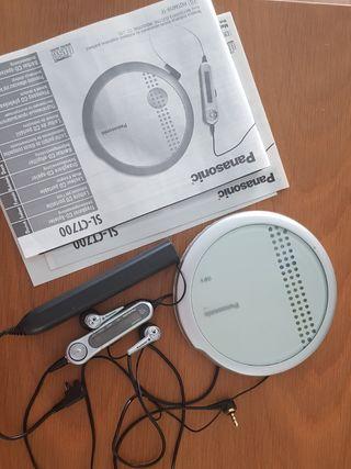 Discman Panasonic CD y Mp3