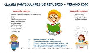CLASES DE REFUERZO VERANO