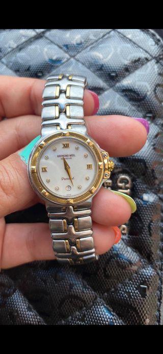 Reloj raymond weil mujer. Lo vendo por no usarlo.