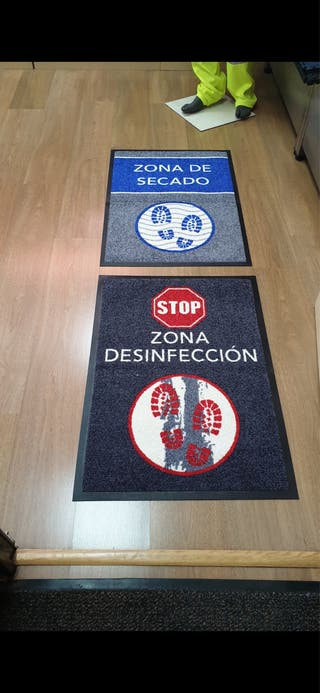 Alfombras desinfectantes COVID 19