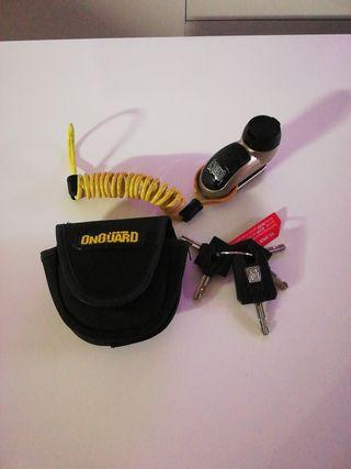 Candado seguridad de disco Moto