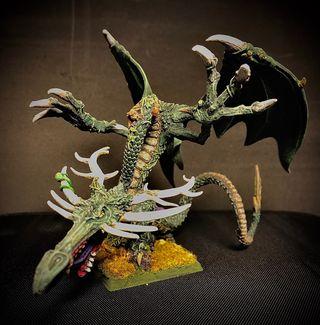 Warhammer fantasy Dragon del Bosque Sylvaneth