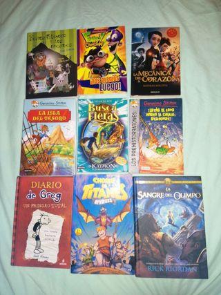 Libros infantil y juvenil