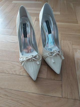 Zapatos blanco crudo A ESTRENAR