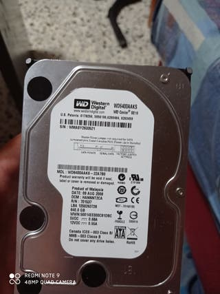 Memoria interna de 650 gb