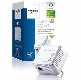Adaptador PLC - Devolo Dlan 500 Wifi 500 Mbps