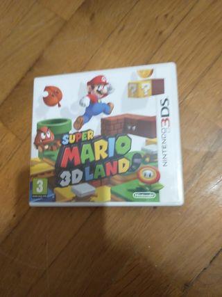 juego super Mario 3d land 3ds o 2ds