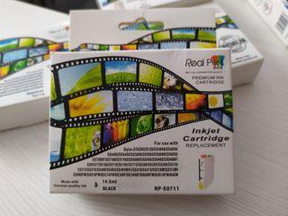 tinta de impresora. RP-E0711, T0714, E0713, E0712