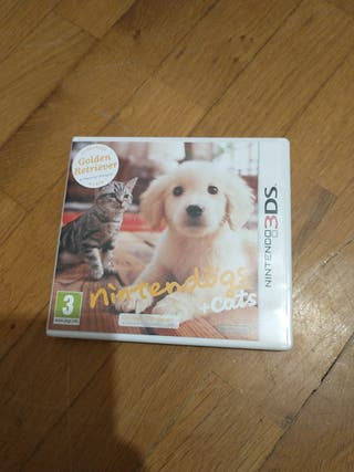 juego nintendogs +Cats 3ds