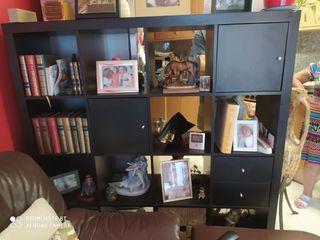 mueble ikea kallax negro