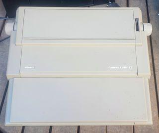 Maquina escribir electronica olivetti