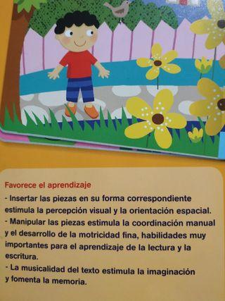 Libro colores del jardín.