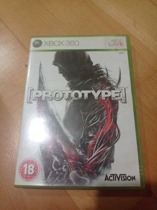 Prototype Xbox 360