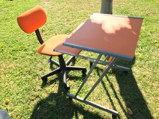 Silla giratoria + Regalo escritorio infantil