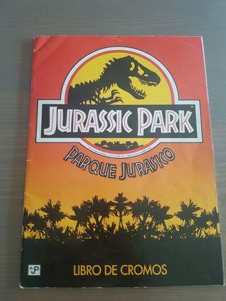 album de cromos Jurassic Park