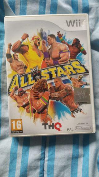 WWE ALL STARS. Wii
