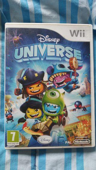 DISNEY UNIVERSE. Wii