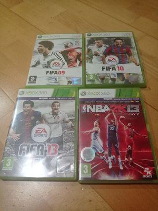 FIFA 2k NBA Xbox 360
