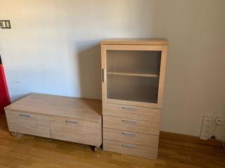 Modulo salón. Mueble TV y estante