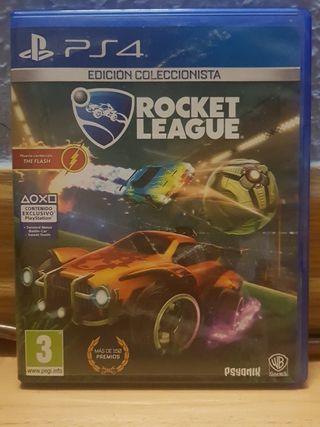 """Videojuego """"Rocket League"""" Coleccionista PS4"""