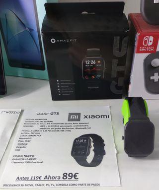 infortelex.com Smartwatch AmazFit GTS Xiaomi