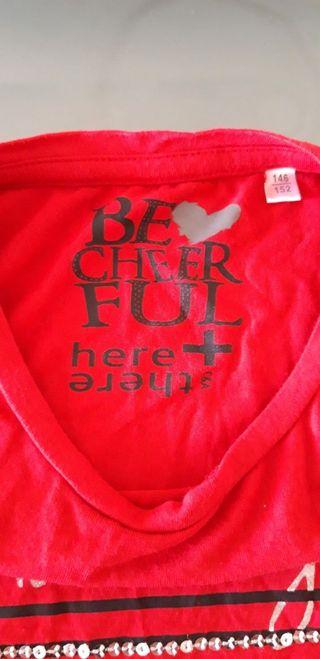 Camiseta roja S